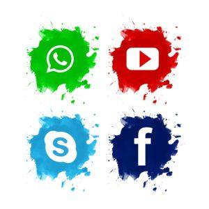 אייקונים רשתות חברתיות